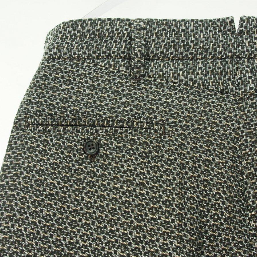 Engineered Garments エンジニアドガーメンツ - Andover Pant アンドーバーパンツ - Basketweave Cross Dobby - Brown