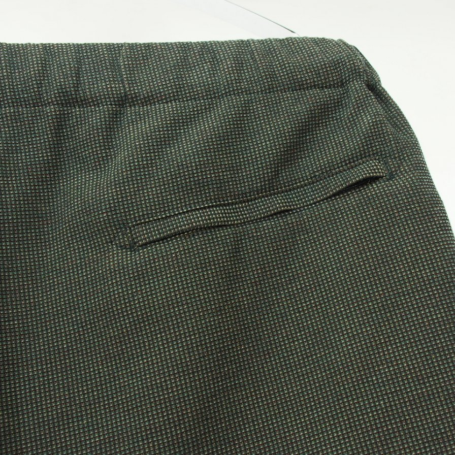Engineered Garments エンジニアドガーメンツ - Drowstring Pant ドローストリングパンツ - CP Waffle - Dk.Brown