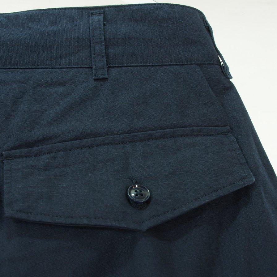 Engineered Garments エンジニアドガーメンツ - FA Pant エフエーパンツ - Cotton Ripstop - DK.Navy