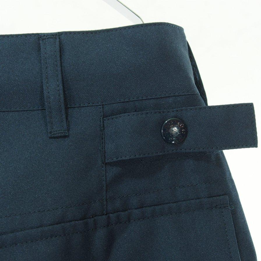 Engineered Garments エンジニアドガーメンツ - Ground Pant グラウンドパンツ - Polyester Twill - Navy