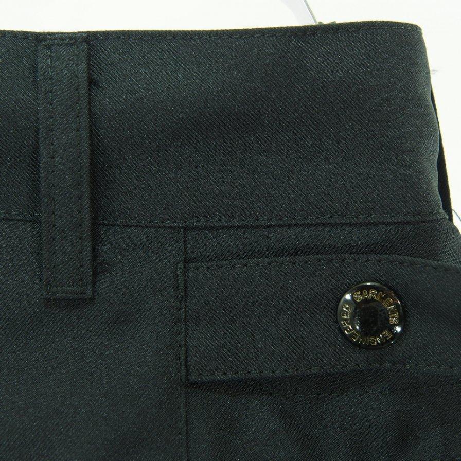 Engineered Garments エンジニアドガーメンツ - Ground Pant グラウンドパンツ - Polyester Twill - Black