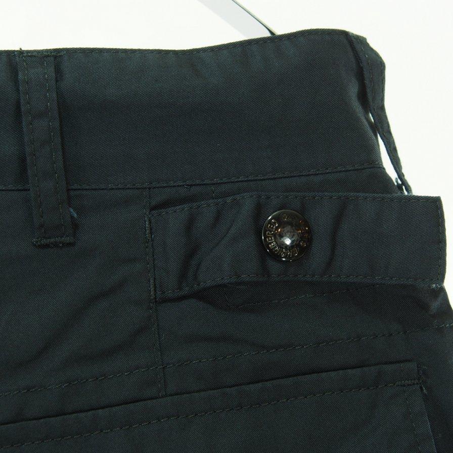 Engineered Garments エンジニアドガーメンツ - Ground Pant グラウンドパンツ - High Count Twill - Black
