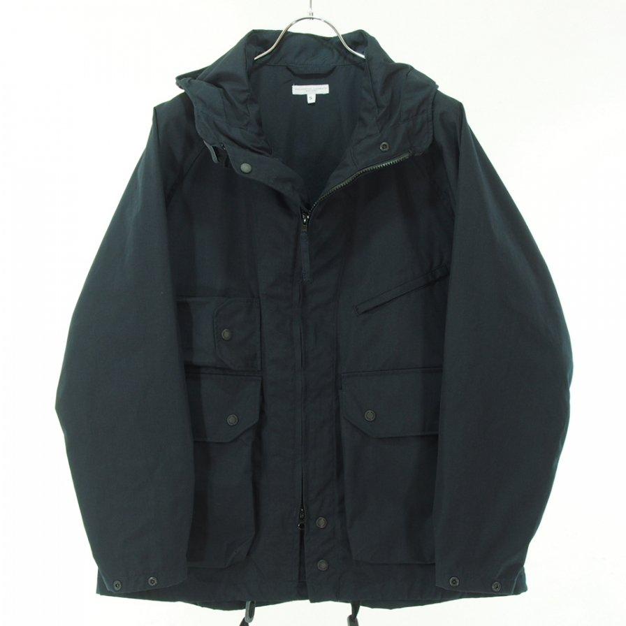 Engineered Garments エンジニアドガーメンツ - Atlantic Parka アトランティックパーカ - PC Poplin - Dk.Navy