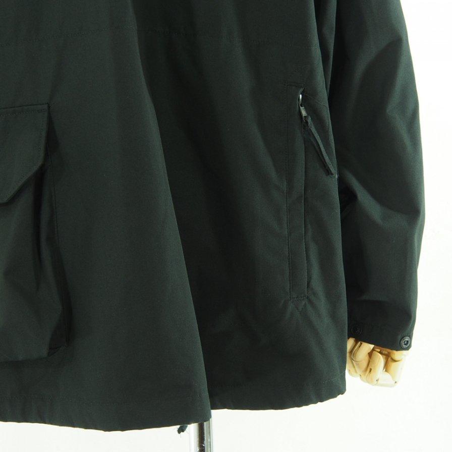Engineered Garments エンジニアドガーメンツ - Atlantic Parka アトランティックパーカ - PC Poplin - Black