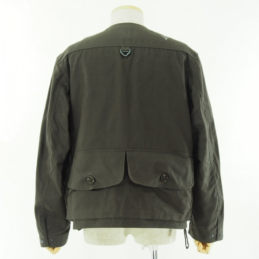 South2 West8 サウスツーウエストエイト - Tenkara Jacket テンカラジャケット - Oxford / Paraffin Coating - Dk.Brown