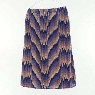 South2 West8 Woman サウスツーウエストエイトウォメン - String Skirt - Ikat Wave - Purple