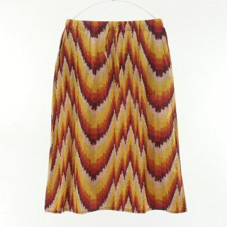 South2 West8 Woman サウスツーウエストエイトウォメン - String Skirt - Ikat Wave - Red