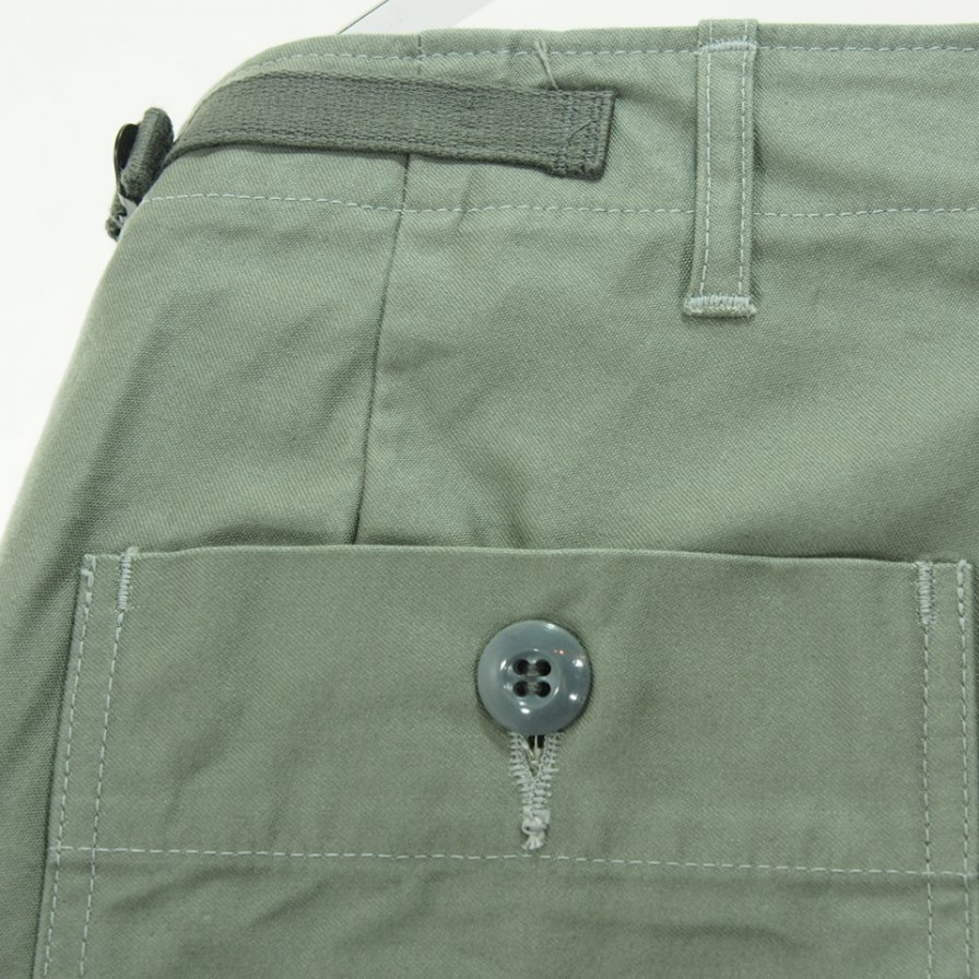 CORONA Fatigue Slacks コロナ ファテーグスラックス - Aggressor Slacks - M 51 Military Back Satin - Sage Green