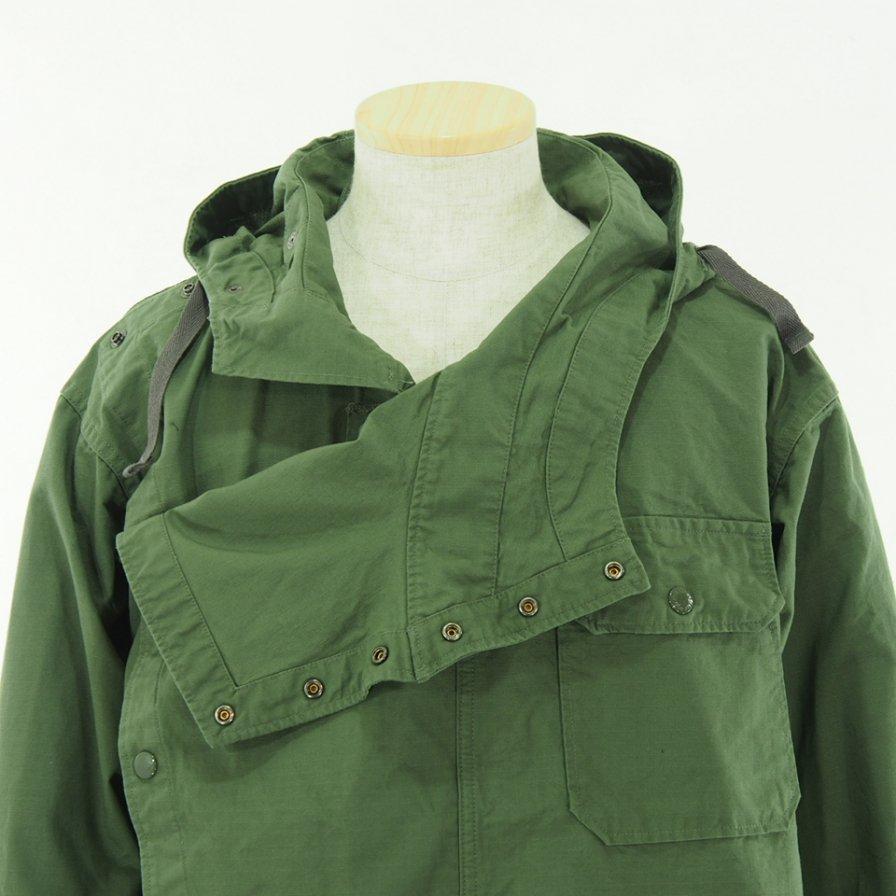 Engineered Garments エンジニアドガーメンツ - Sonor Shirt Jacket ソナーシャツジャケット - Cotton Ripstop - Olive