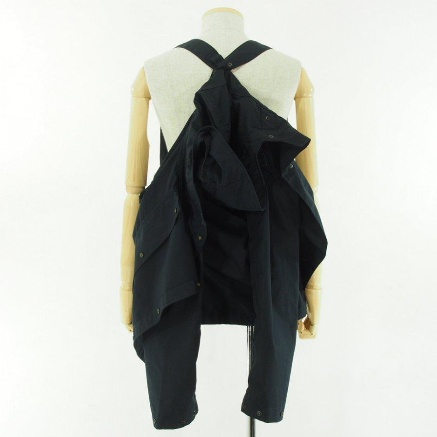 Engineered Garments エンジニアドガーメンツ - Sonor Shirt Jacket ソナーシャツジャケット - PC Poplin - Dk.Navy