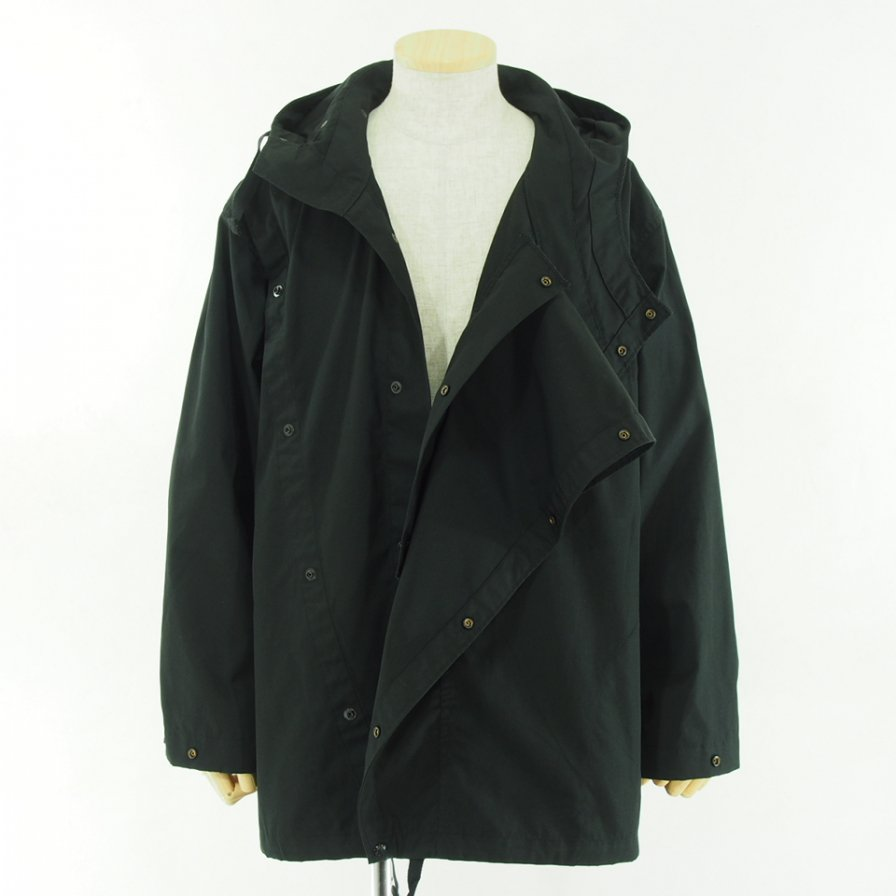 Engineered Garments エンジニアドガーメンツ - Sonor Shirt Jacket ソナーシャツジャケット - PC Poplin - Black