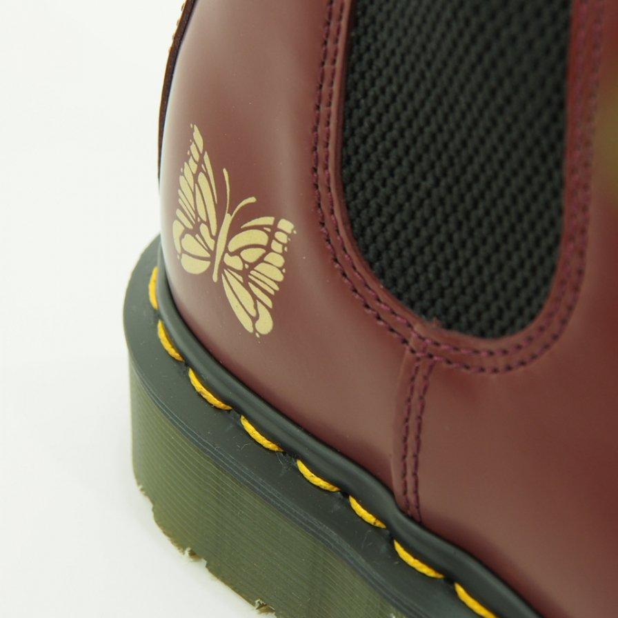 Needles × Dr.Martens ニードルズ × ドクターマーチン チェルシーブーツ - 2976 Chelseas Boots with Bit - Cherry Red