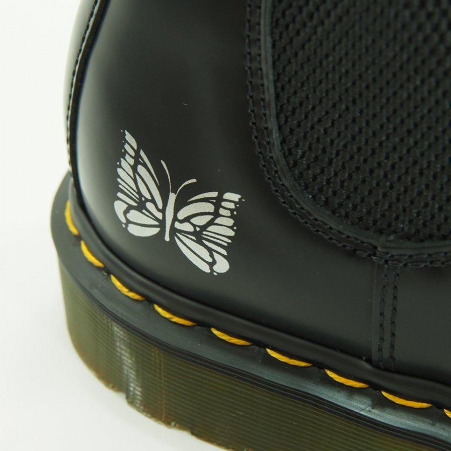 Needles × Dr.Martens ニードルズ × ドクターマーチン チェルシーブーツ - 2976 Chelseas Boots with Bit - Black