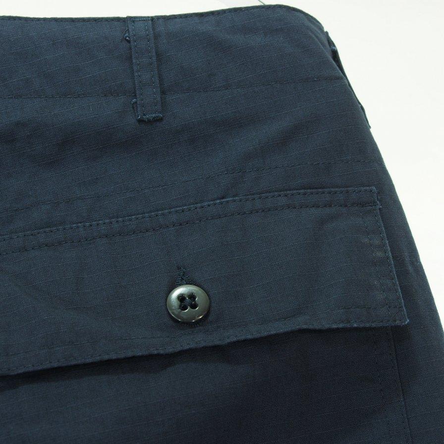 Engineered Garments エンジニアドガーメンツ - Fatigue Pant ファーティーグパンツ - Cotton Ripstop -Dk.Navy