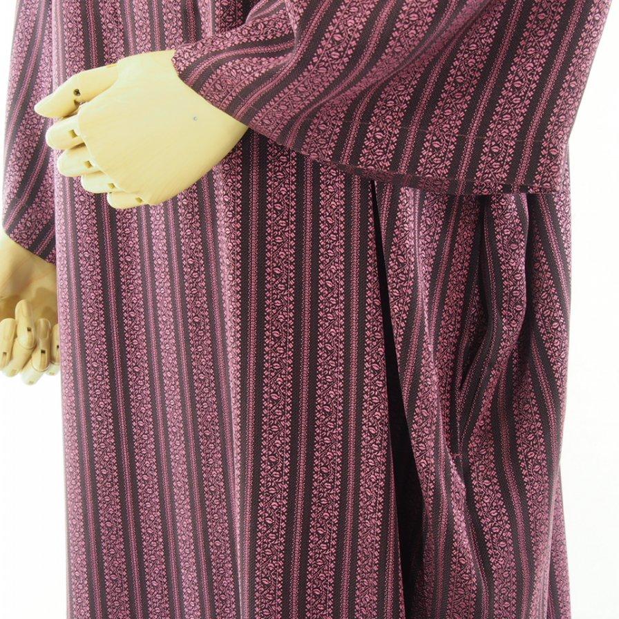 Needles Woman ニードルズウォメン - V Neck Dress - Fine Pattern Jq. - Stripe