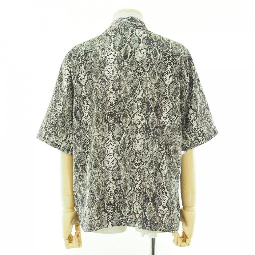 Needles ニードルズ - Cabana Shirt カバナシャツ - Python Pt. - White