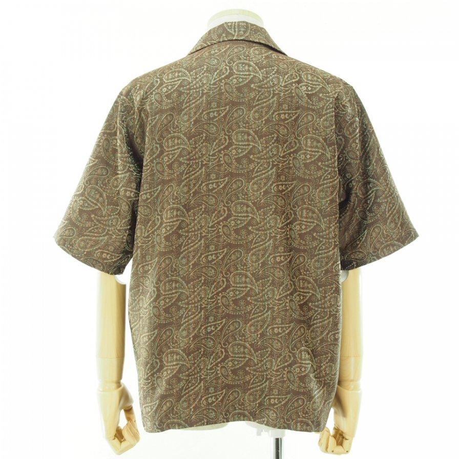 Needles ニードルズ - Cabana Shirt カバナシャツ - Paisley Jq. - Brown