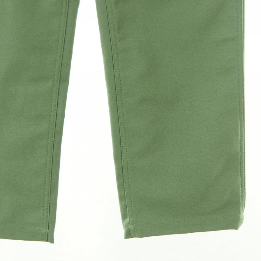 EG WORKADAY イージーワーカデイ - Fatigue Pant Printed ファティーグパンツプリンテッド - Reversed Sateen - Olive