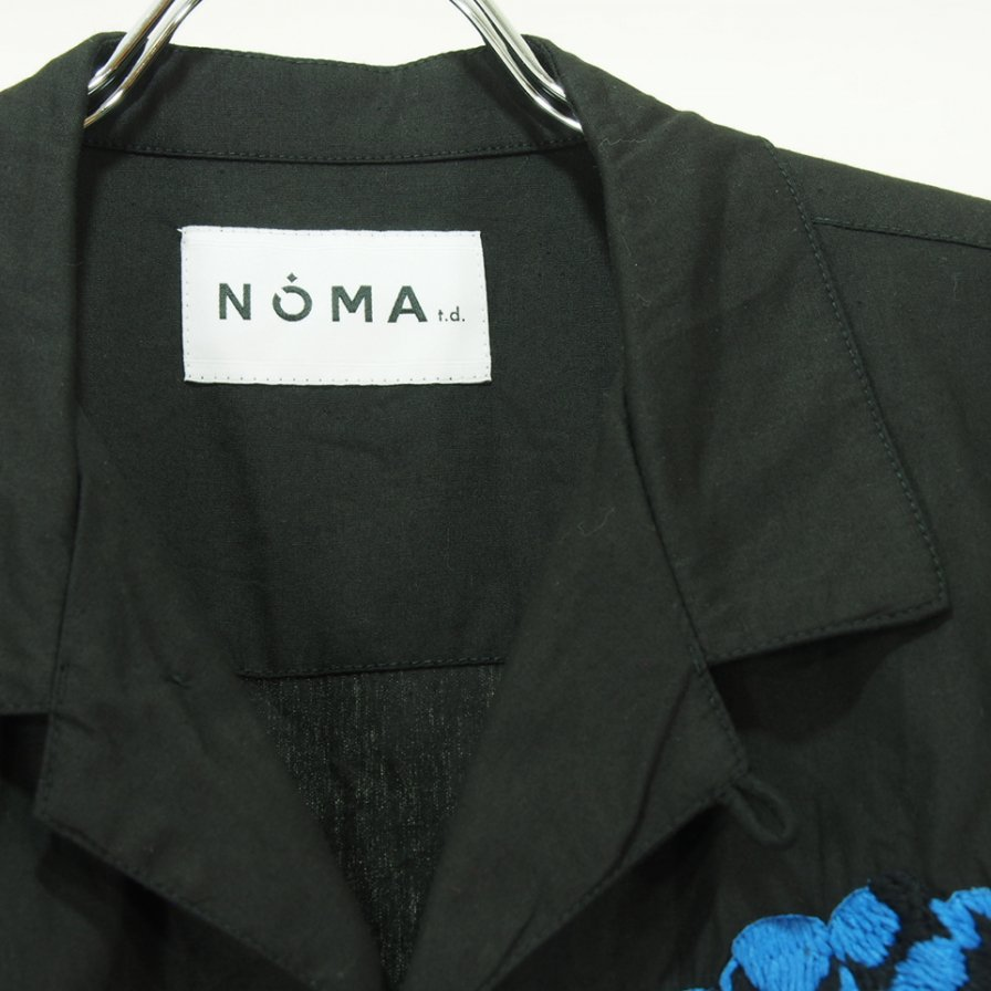 NOMA t.d. ノーマティーディー - Fruit Emb SS Shirt - Black
