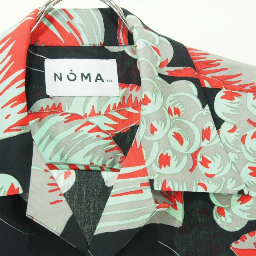 NOMA t.d. ノーマティーディー - Summer Shirt - Pretty Things - Black