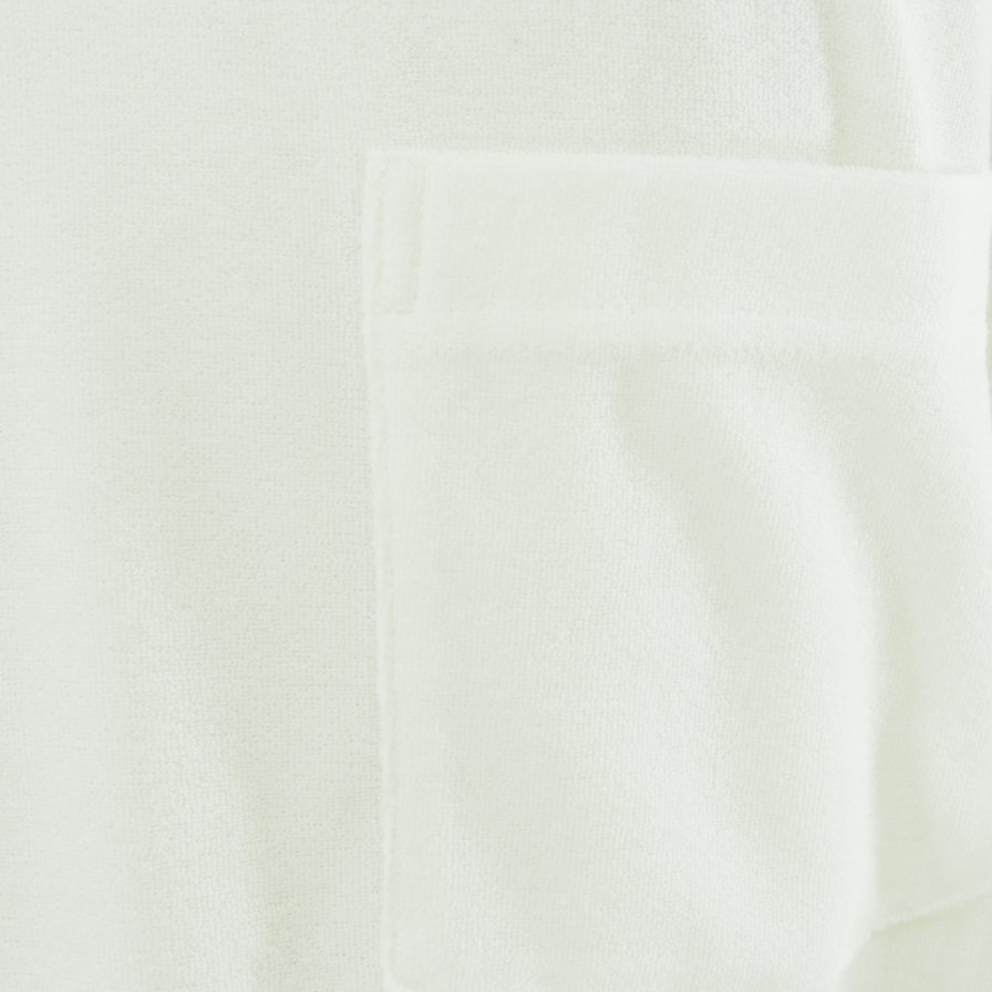 the conspires ザコンスパイアーズ - Mock Turtle Neck Pocket Tee - White