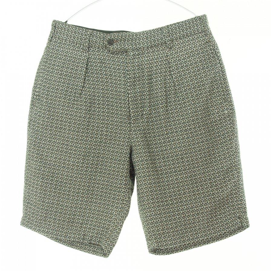 Engineered Garments エンジニアドガーメンツ - Sunset Short サンセットショーツ - Basketweave Cross Dobby - Brown