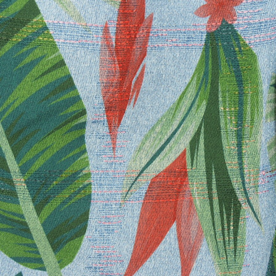 Engineered Garments エンジニアドガーメンツ - Sunset Short サンセットショーツ - Polyester Big Floral Print - Lt.Blue