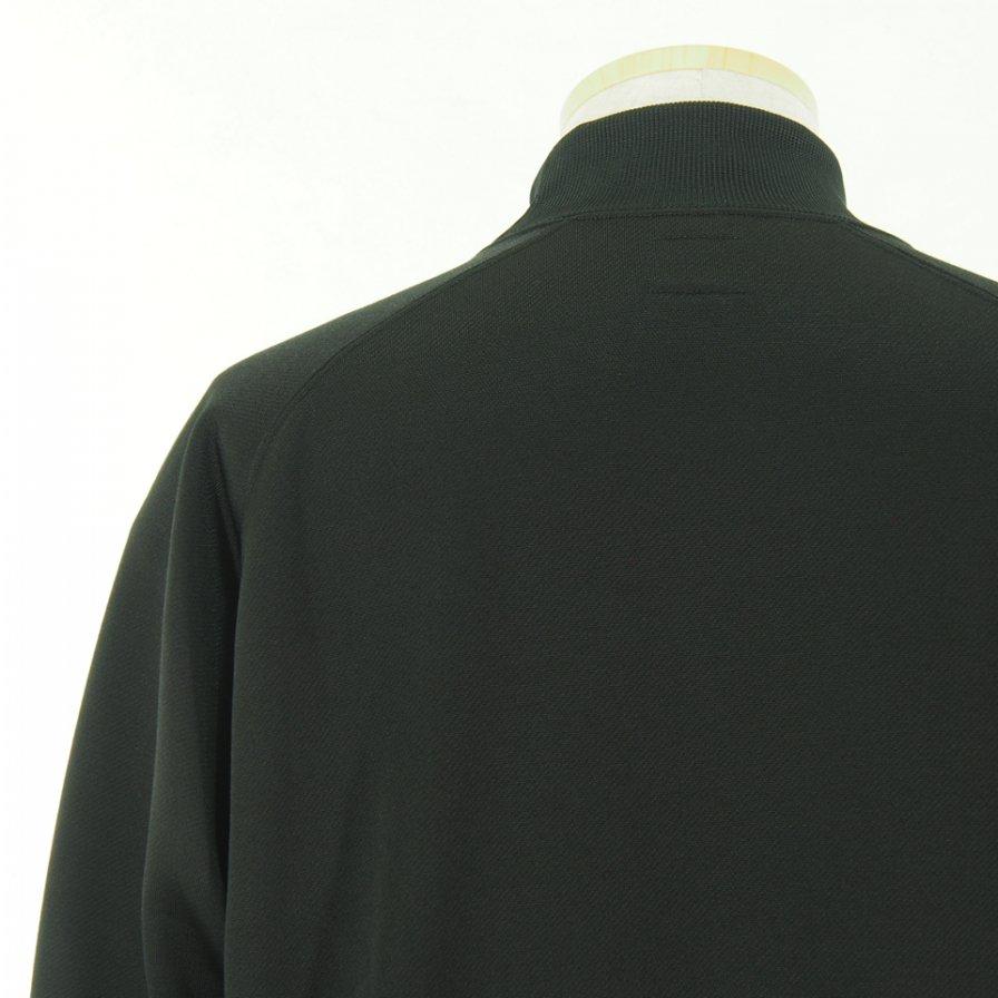 Needles ニードルズ - L/S Mock Neck Tee ロングスリーブモックネックティー - C/Pe Bright Jersey - Black