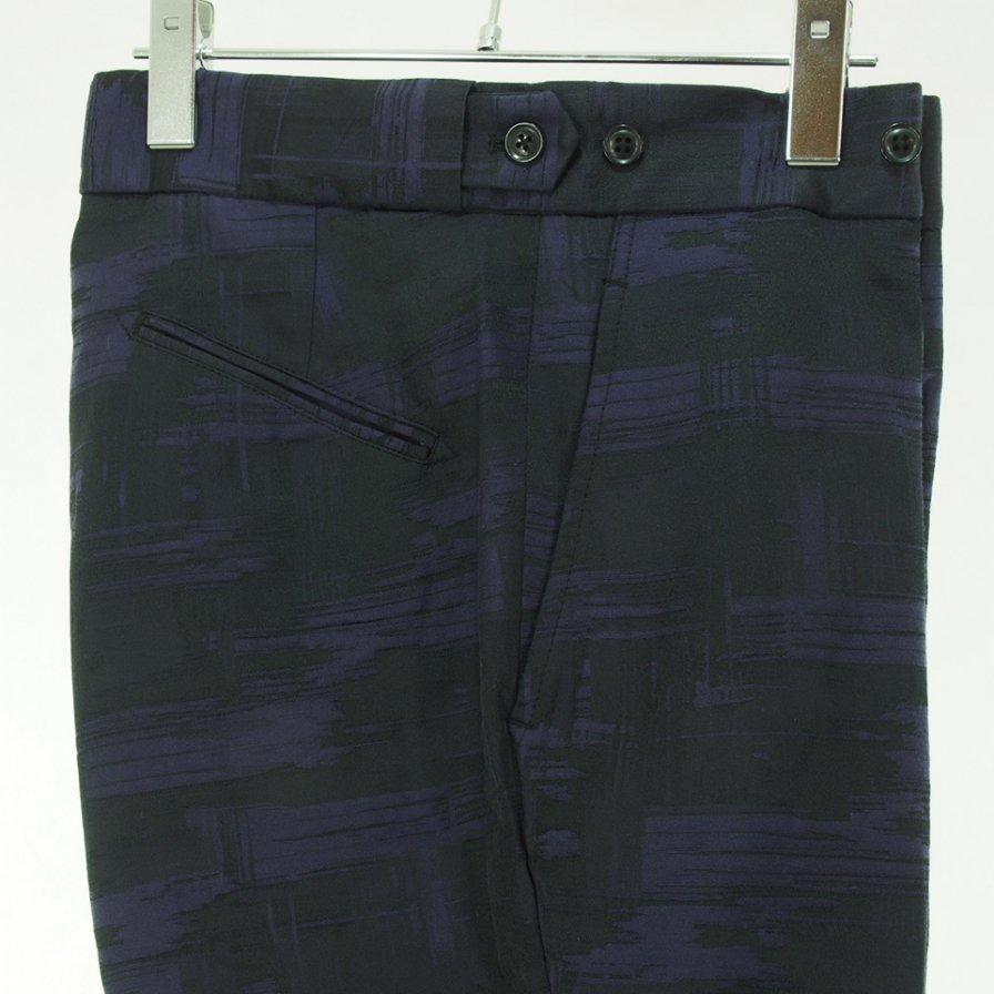 Needles ニードルズ - Side Tab Trouser サイドタブトラウザー - C/Pe Abstract Jq. - Purple