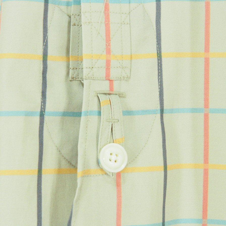 Needles Woman ニードルズウォメン - Round Collar EDW Shirt ラウンドカラーエドワードシャツ - Cotton Sateen / Pt. - Plaid
