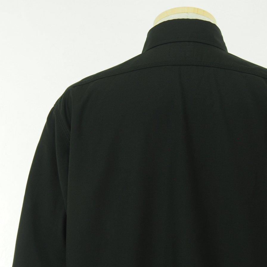 Needles ニードルズ - Work Shirt ワークシャツ - Pe/R Gabardine - Black
