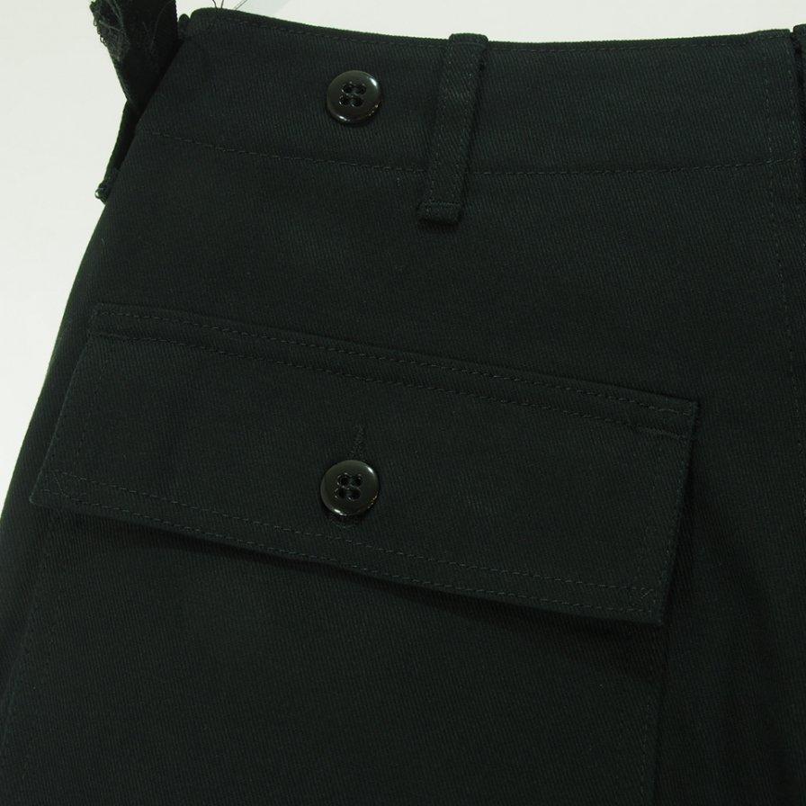 EG WORKADAY イージーワーカデイ - Fatigue Pant ファティーグパンツ - Cotton Heavy Twill - Black