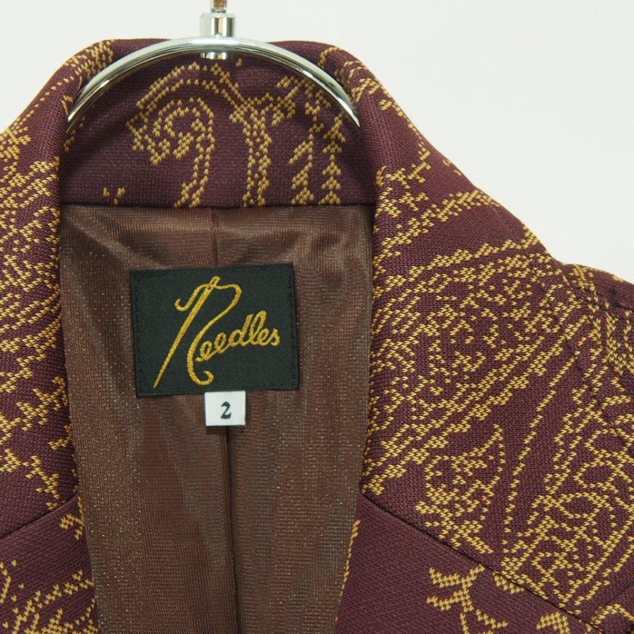 Needles Woman ニードルズウォメン - 2B Jacket ツービージャケット - Poly Jq. - Paisley