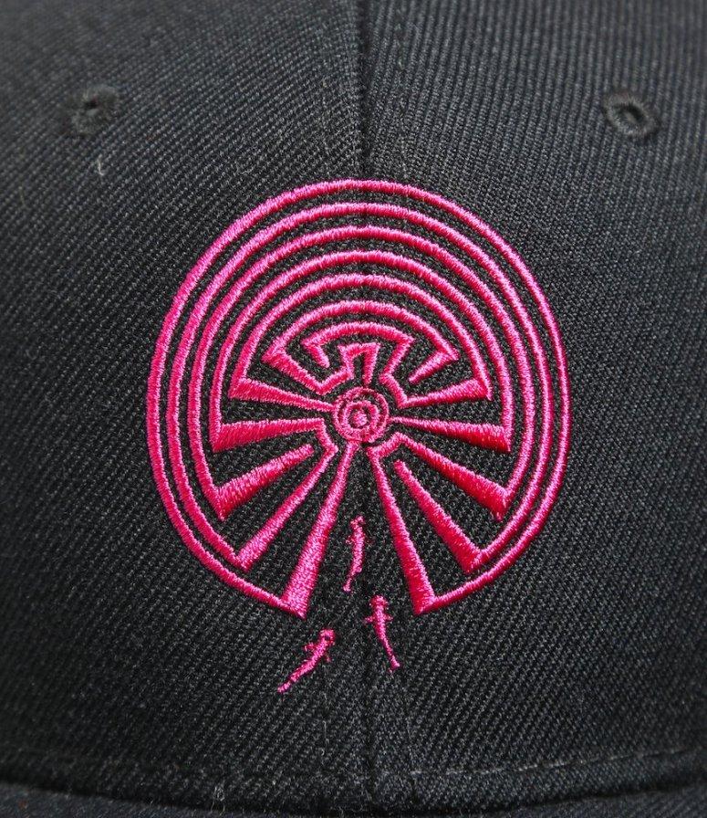 South2 West8 サウスツーウエストエイト - Baseball Cap ベースボールキャップ - Maze Emb. - Black