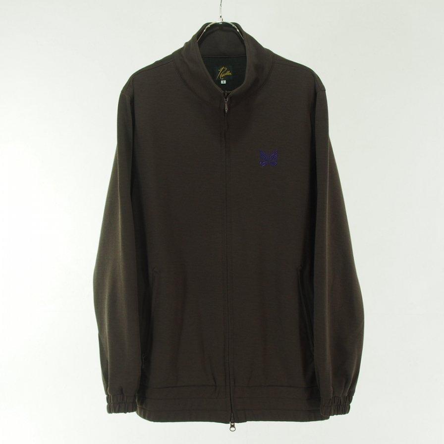 Needles ニードルズ - W.U. Jacket ウォームアップジャケット - Poly Twill Jersey - Brown