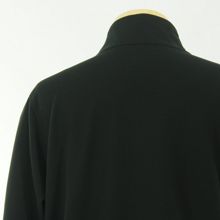 Needles ニードルズ - W.U. Jacket ウォームアップジャケット - Poly Twill Jersey - Black