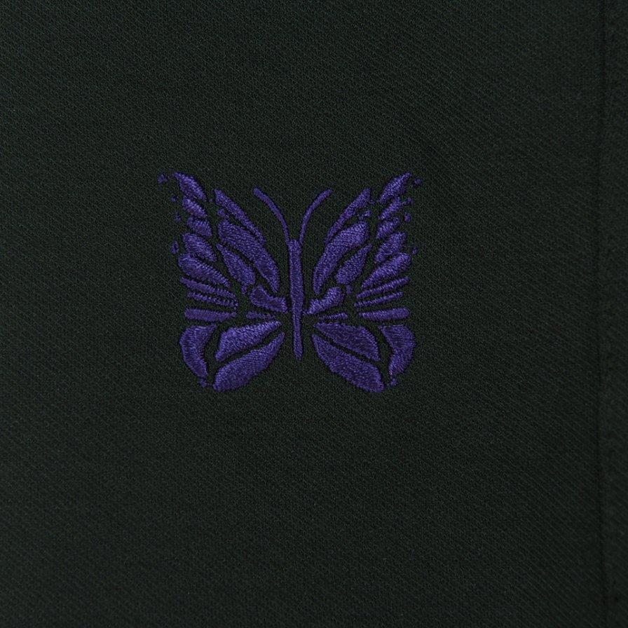 Needles ニードルズ - W.U. Boot Cut Pant ウォームアップブーツカットパンツ -Poly Twill Jersey - Black