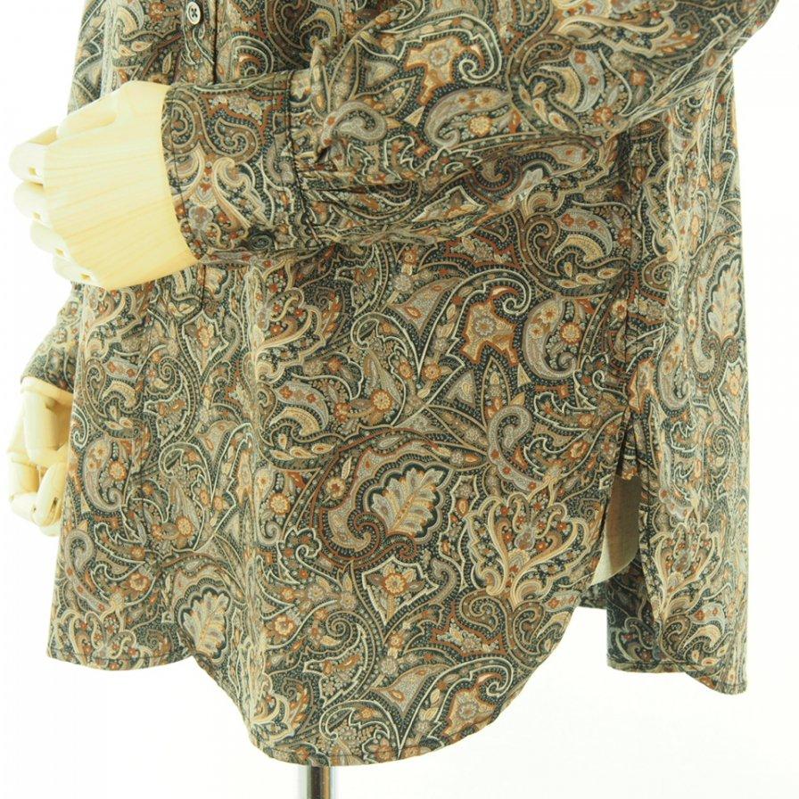 Engineered Garments エンジニアドガーメンツ - 19 Century BD Shirt ナインティーンセンチュリーボタンダウンシャツ - Cotton Paisley Print