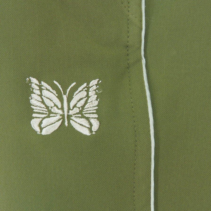 Needles ニードルズ - Piping Cowboy Pant パイピングカーボーイパンツ - Pe/Pu Double Cloth - Olive