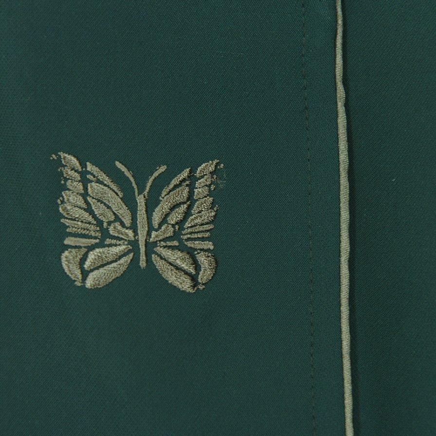 Needles ニードルズ - Piping Cowboy Pant パイピングカーボーイパンツ - Pe/Pu Double Cloth - Green
