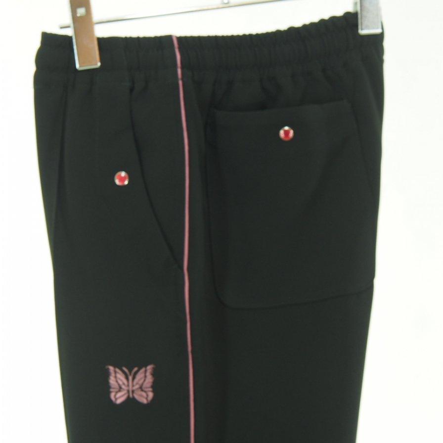 Needles ニードルズ - Piping Cowboy Pant パイピングカーボーイパンツ - Pe/Pu Double Cloth - Black