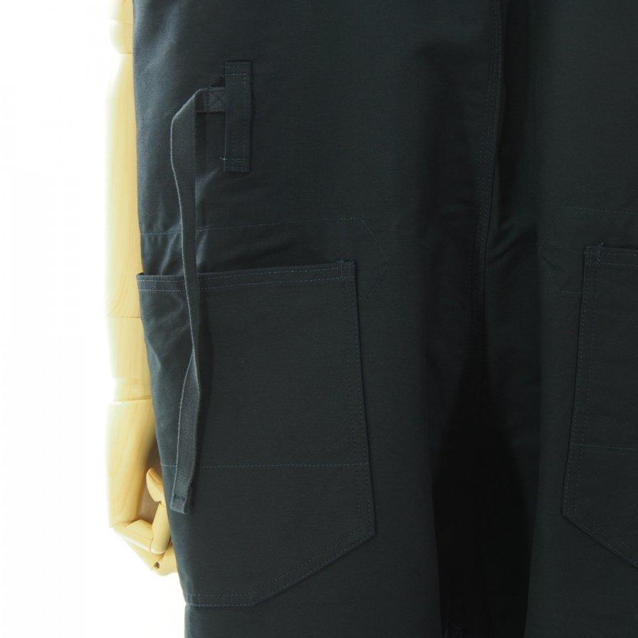 Engineered Garments エンジニアドガーメンツ - Waders ウェーダー - Cotton Double Cloth - Navy