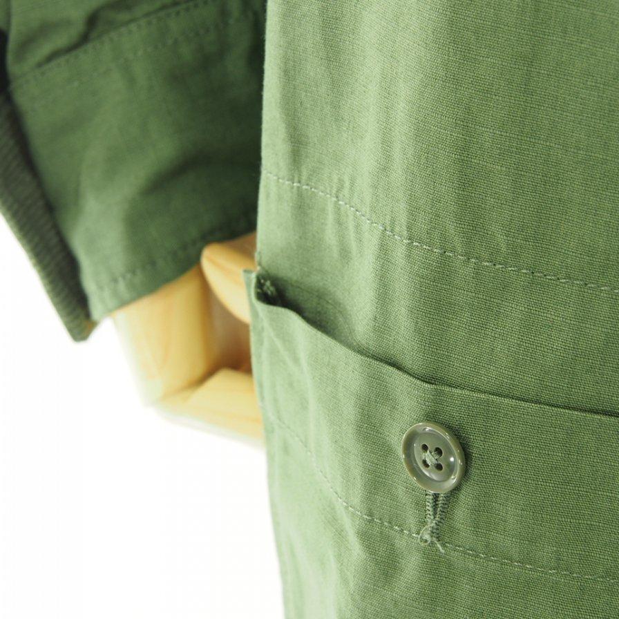 Engineered Garments エンジニアドガーメンツ - Racing Suit レーシングスーツ - Cotton Ripstop - Olive