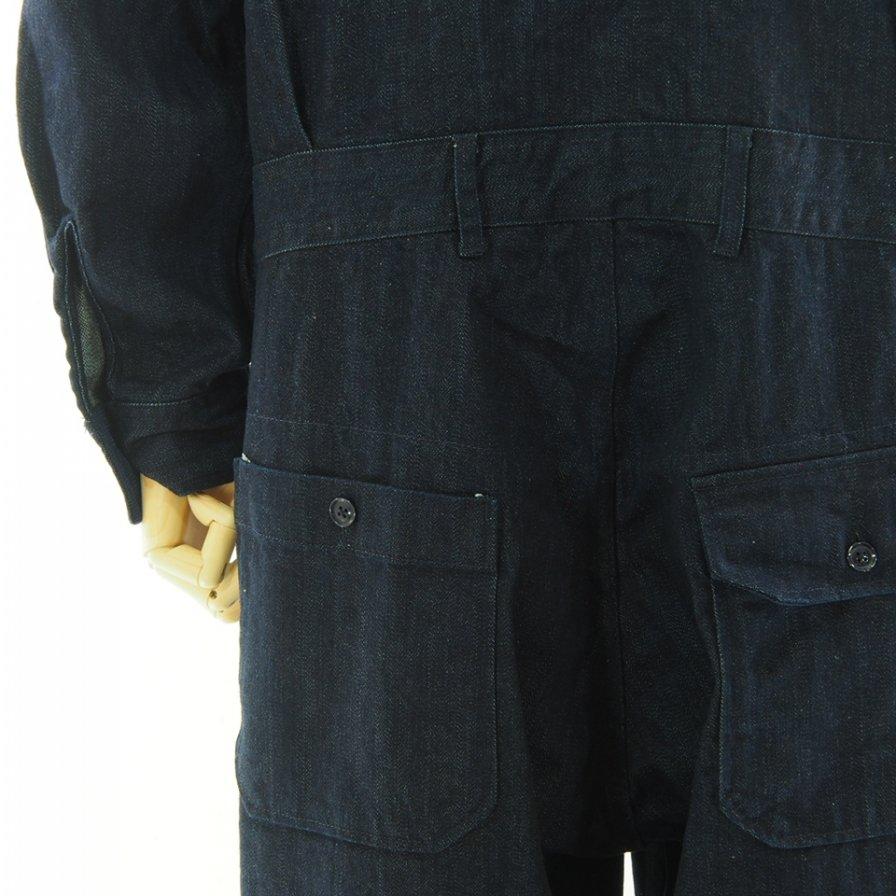 Engineered Garments エンジニアドガーメンツ - Racing Suit レーシングスーツ - 10oz Broken Denim - Indigo
