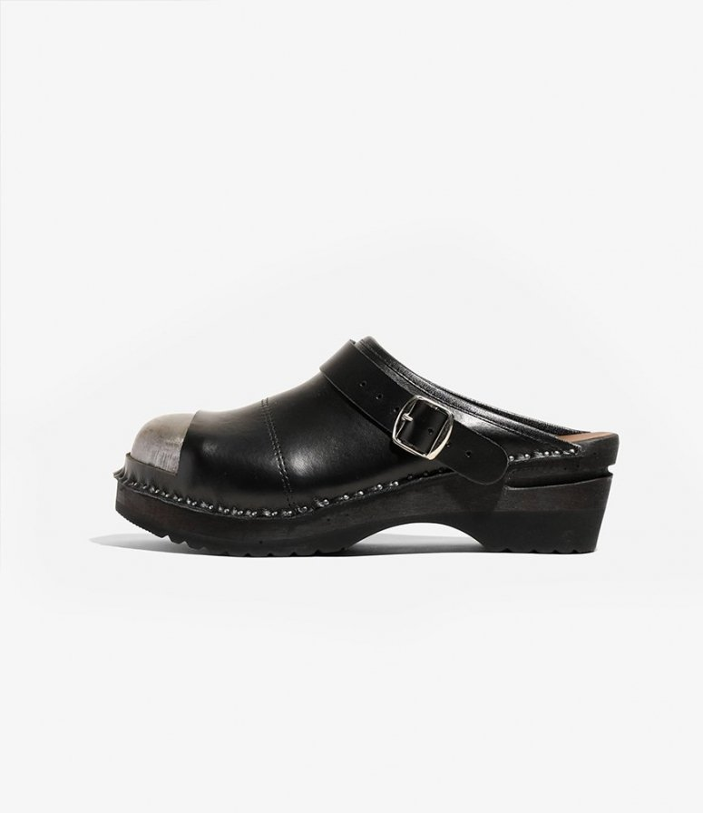 Needles ニードルズ × Troentorp トロエントープ - Safety セーフティー - Smooth / Steel Toe - Black