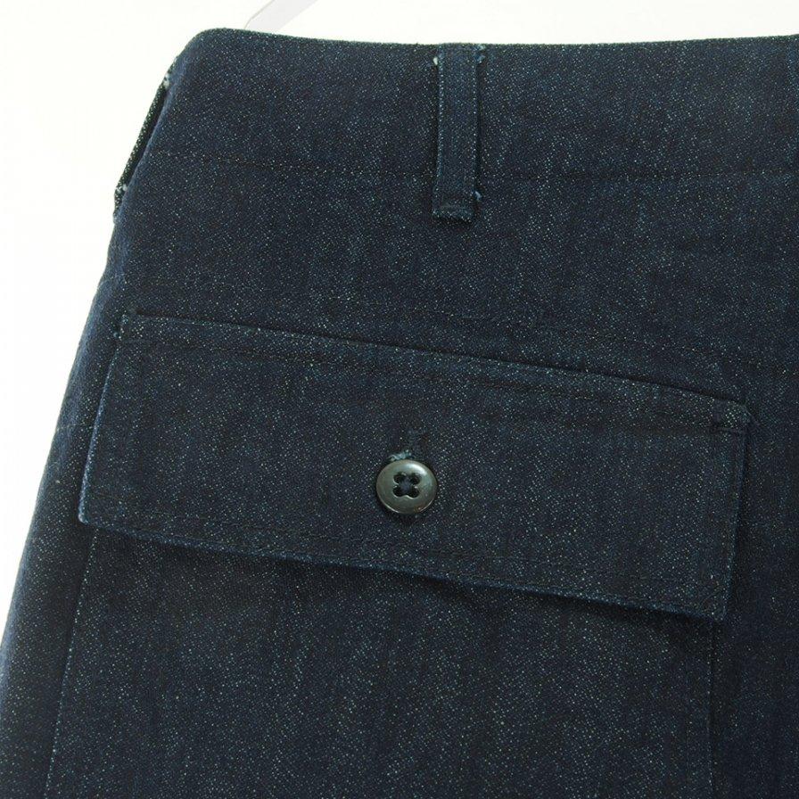 Engineered Garments エンジニアドガーメンツ - Fatigue Pant ファーティーグパンツ - 10oz Broken Denim - Indigo