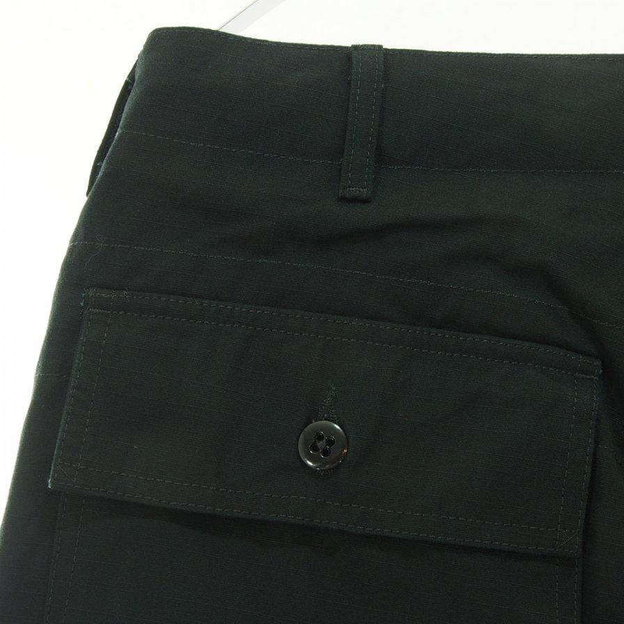 Engineered Garments エンジニアドガーメンツ - Fatigue Pant ファーティーグパンツ - Heavyweight Cotton Ripstop - Black