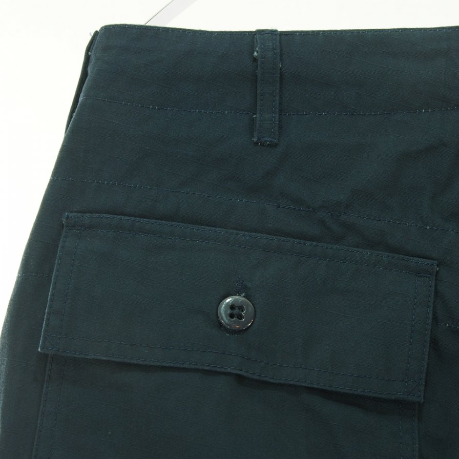 Engineered Garments エンジニアドガーメンツ - Fatigue Pant ファーティーグパンツ - Heavyweight Cotton Ripstop - Dk.Navy