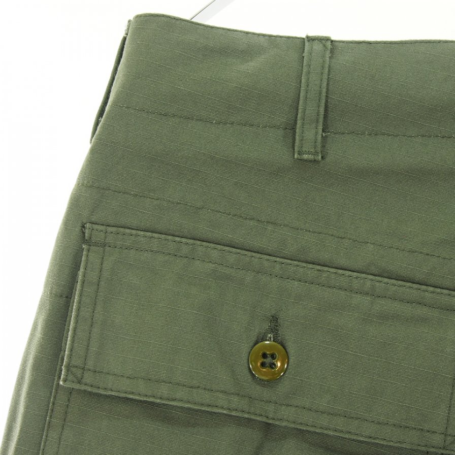 Engineered Garments エンジニアドガーメンツ - Fatigue Pant ファーティーグパンツ - Heavyweight Cotton Ripstop - Olive