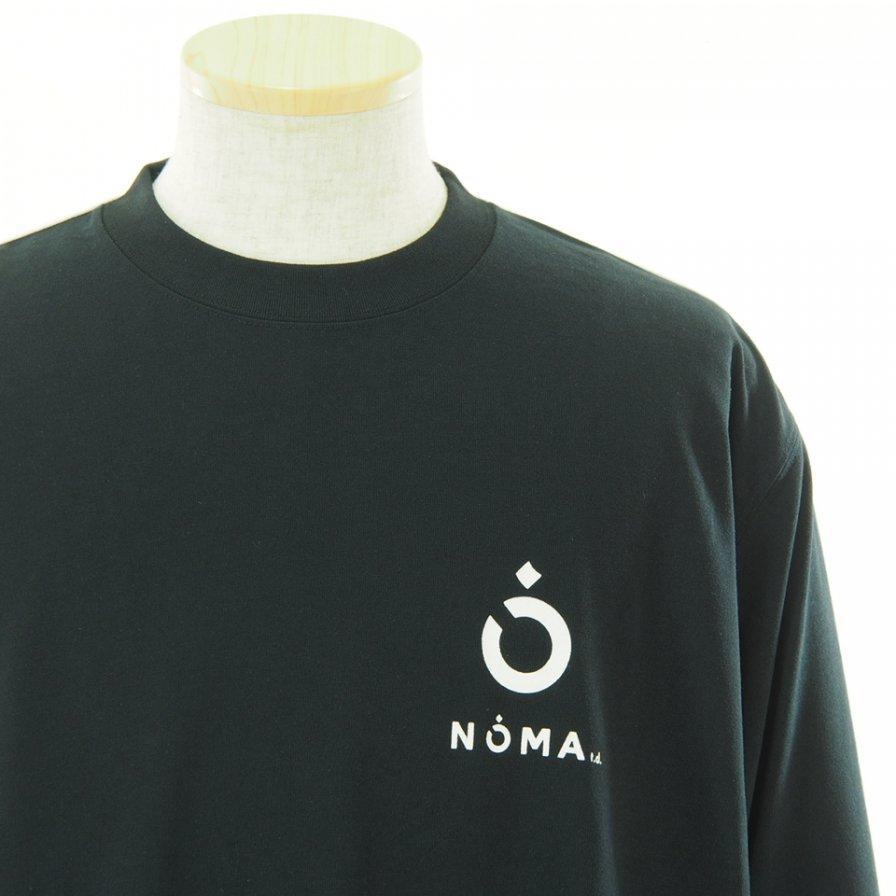 NOMA t.d. ノーマティーディー - Conversation Tee カンバセーションティー - Black